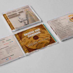 Imagen de la Caja del CD de Tras tu Manto